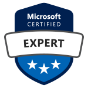 Badge de Microsoft Certified Expert
