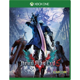 Devil May Cry 5 Deluxe Edition game box
