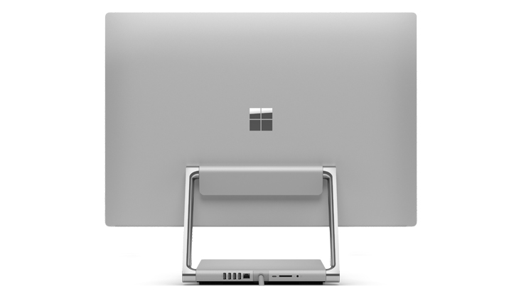 Surface Studio 2 背面畫面
