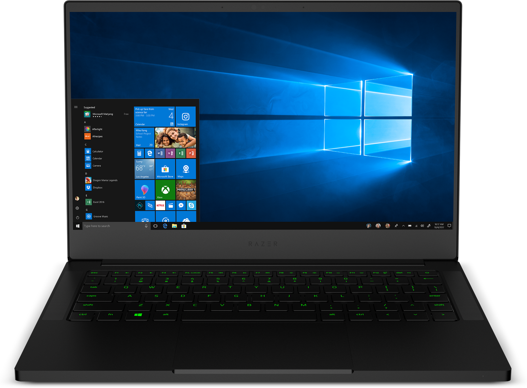 Front view of the Razer Blade Stealth RZ09