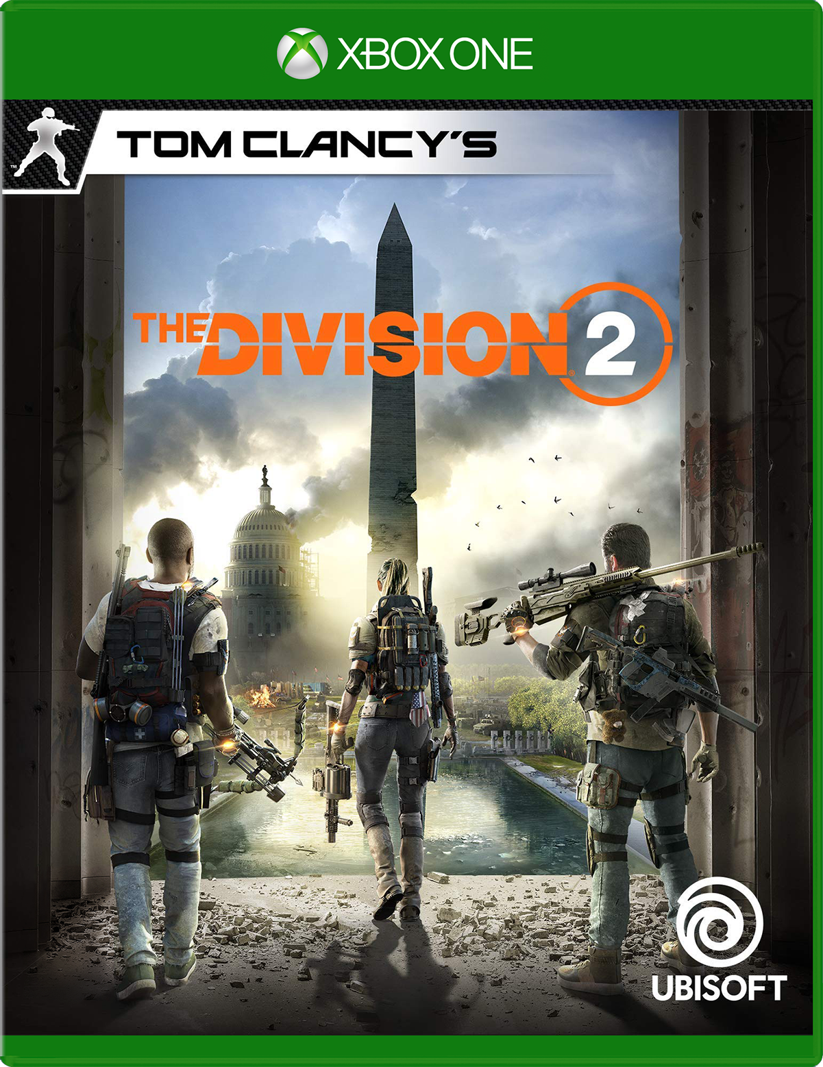 b00- Tom Clancy's The Division 2 Game box