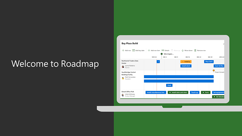 Welcome to Roadmap