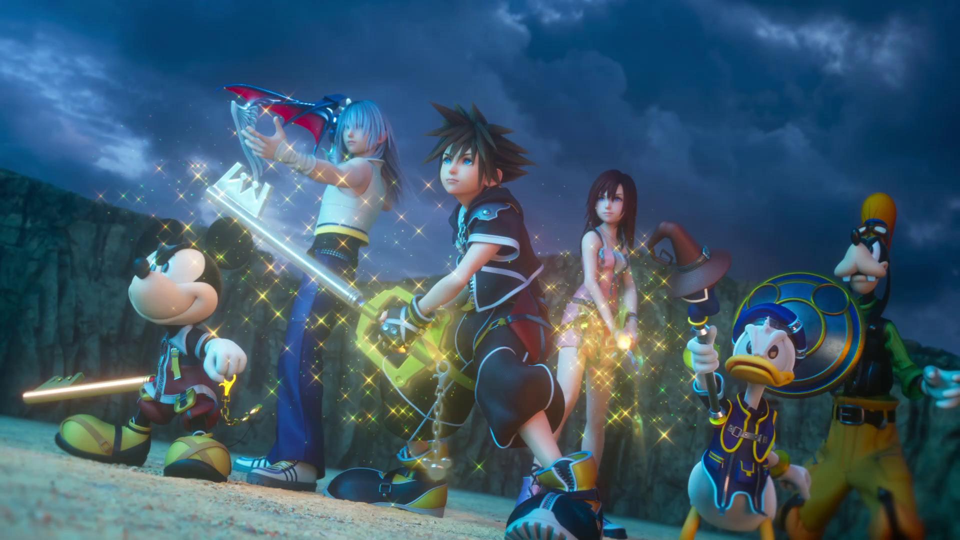 Kingdom Hearts 3 Wallpaper 4k