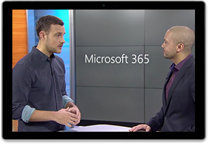 Video still from the webcast titled Empowering your firstline workers with Microsoft 365