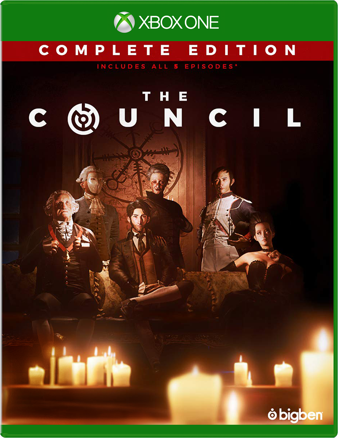 The Council Xbox One Game Cover