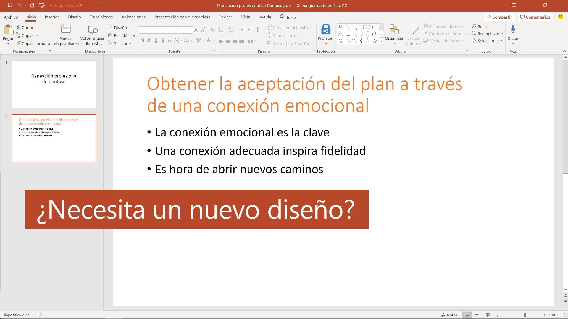 16778ce0b1 Agregar color y diseño a las diapositivas con Temas - PowerPoint