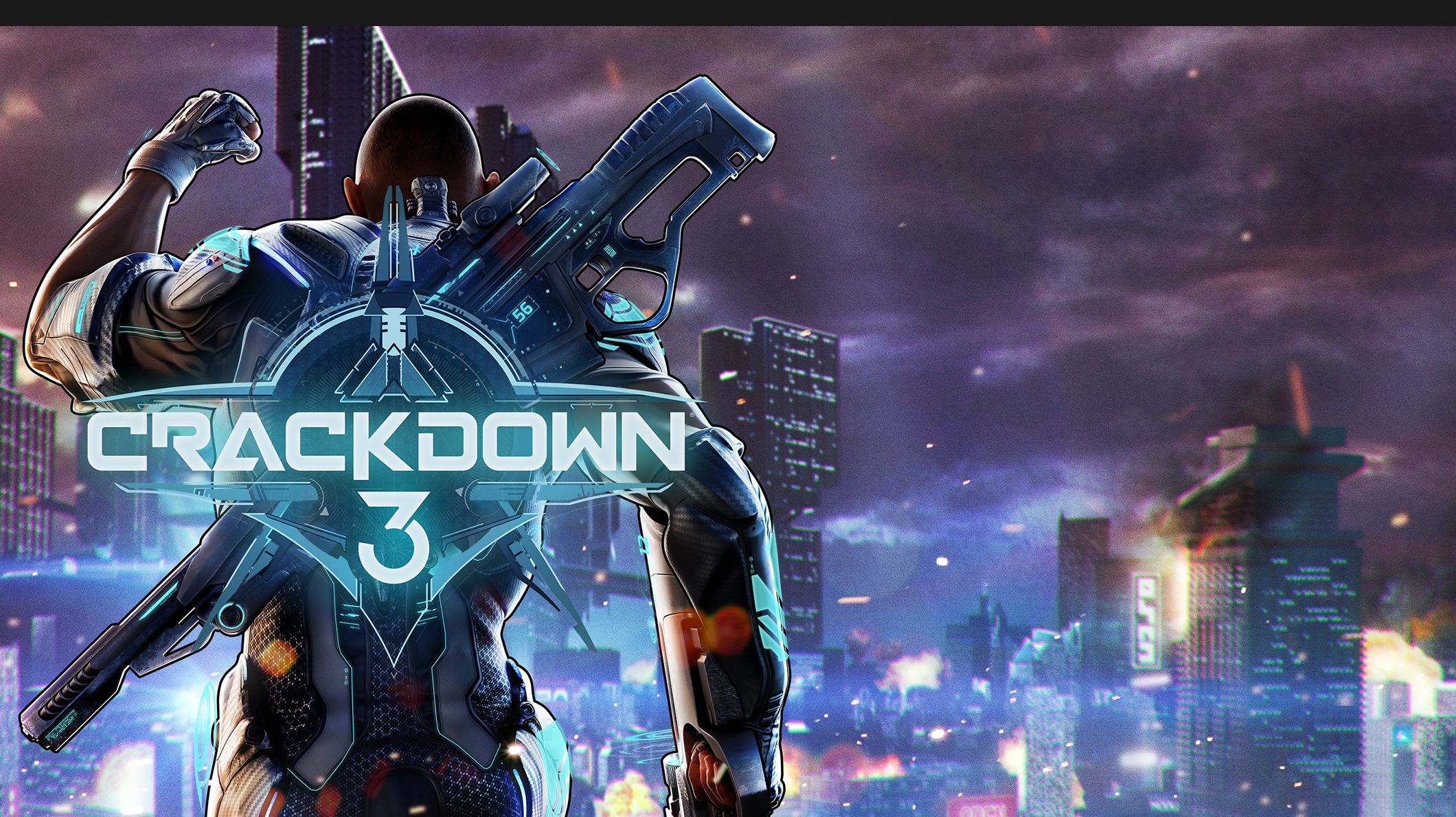 Crackdown 3 for Xbox One.