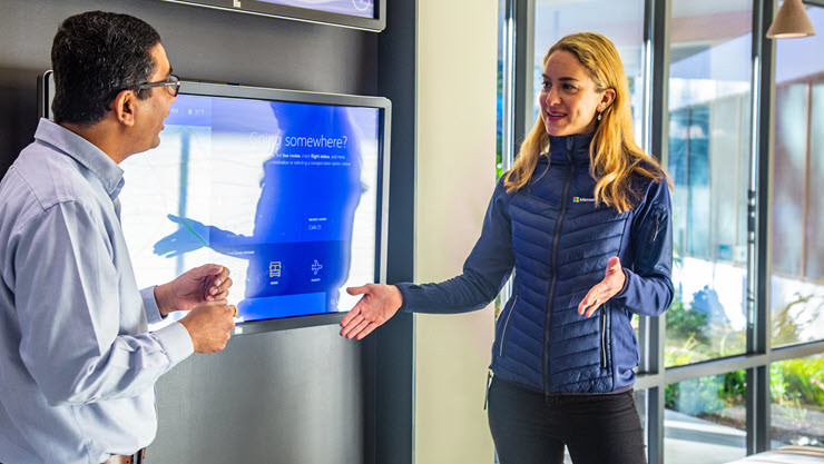 Opening the door to a new first impression at Microsoft