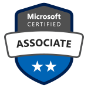 Badge de Microsoft Certified Associate