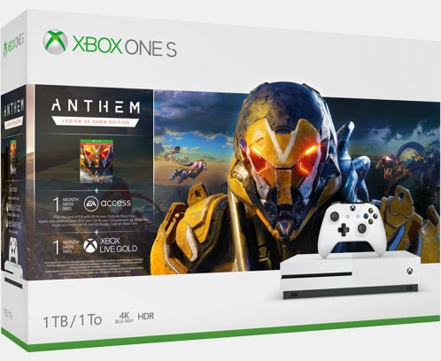 Save up to $50 on Xbox One S 1TB Console -  Anthem Bundle