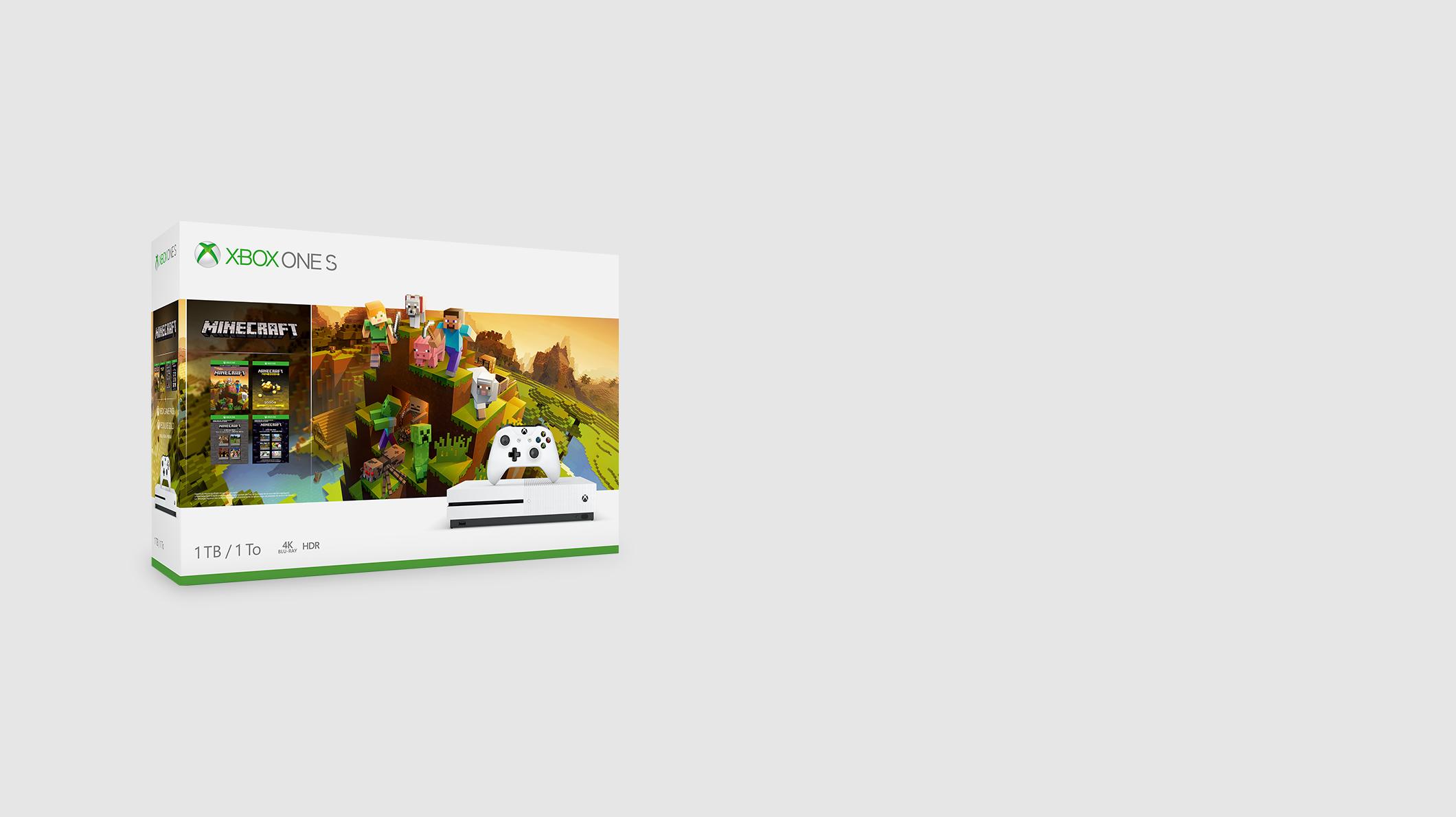 Xbox One S - Minecraft