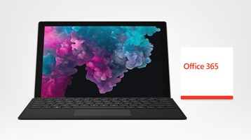 Surface Pro 6, Type Cover en Office 365
