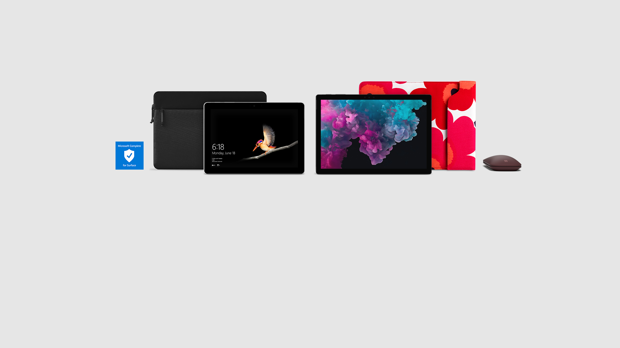 Surface, sleeves and accessories