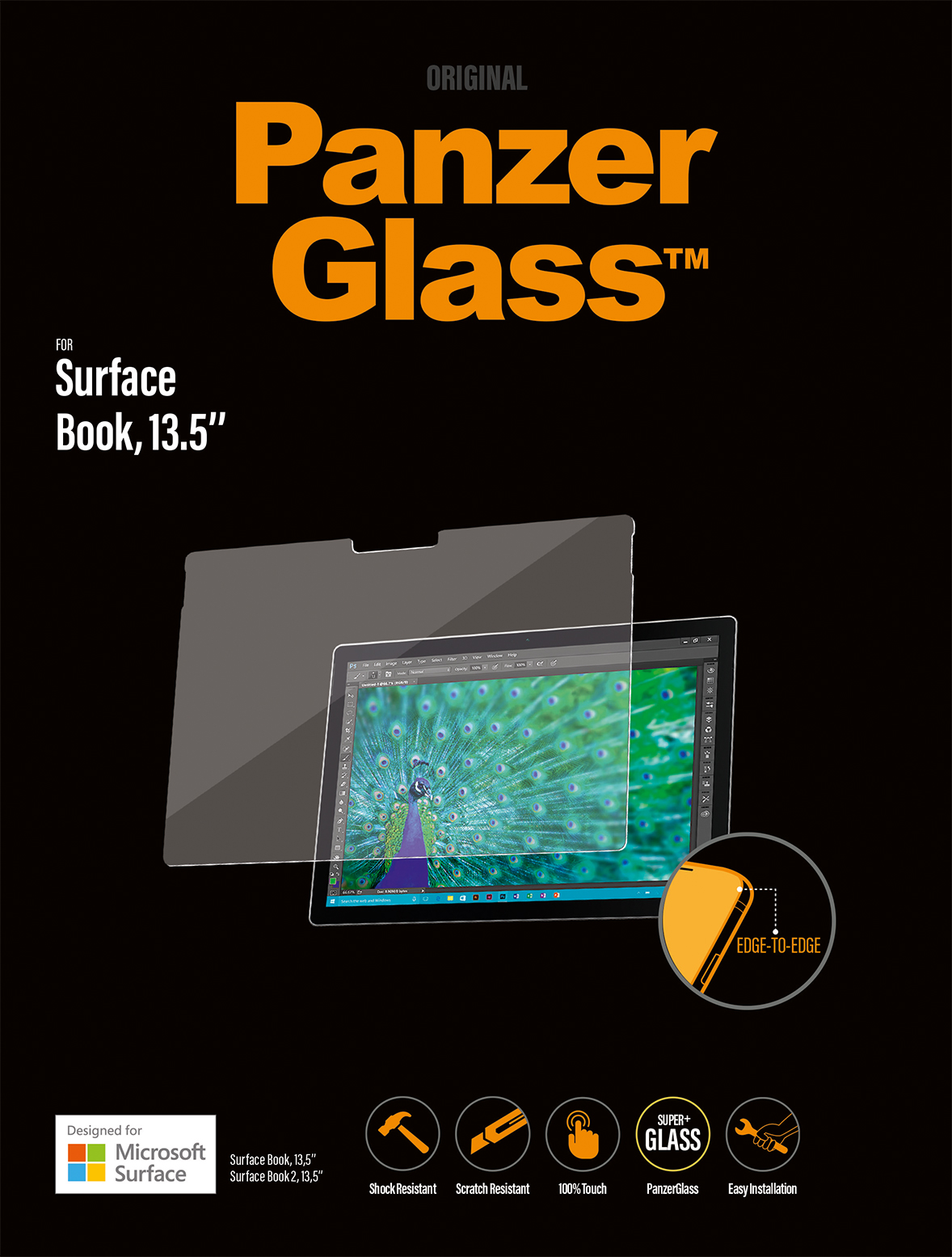 RE2OBrQ?ver=1e88 - PanzerGlass 13.5'' Surface Book Screen Protector