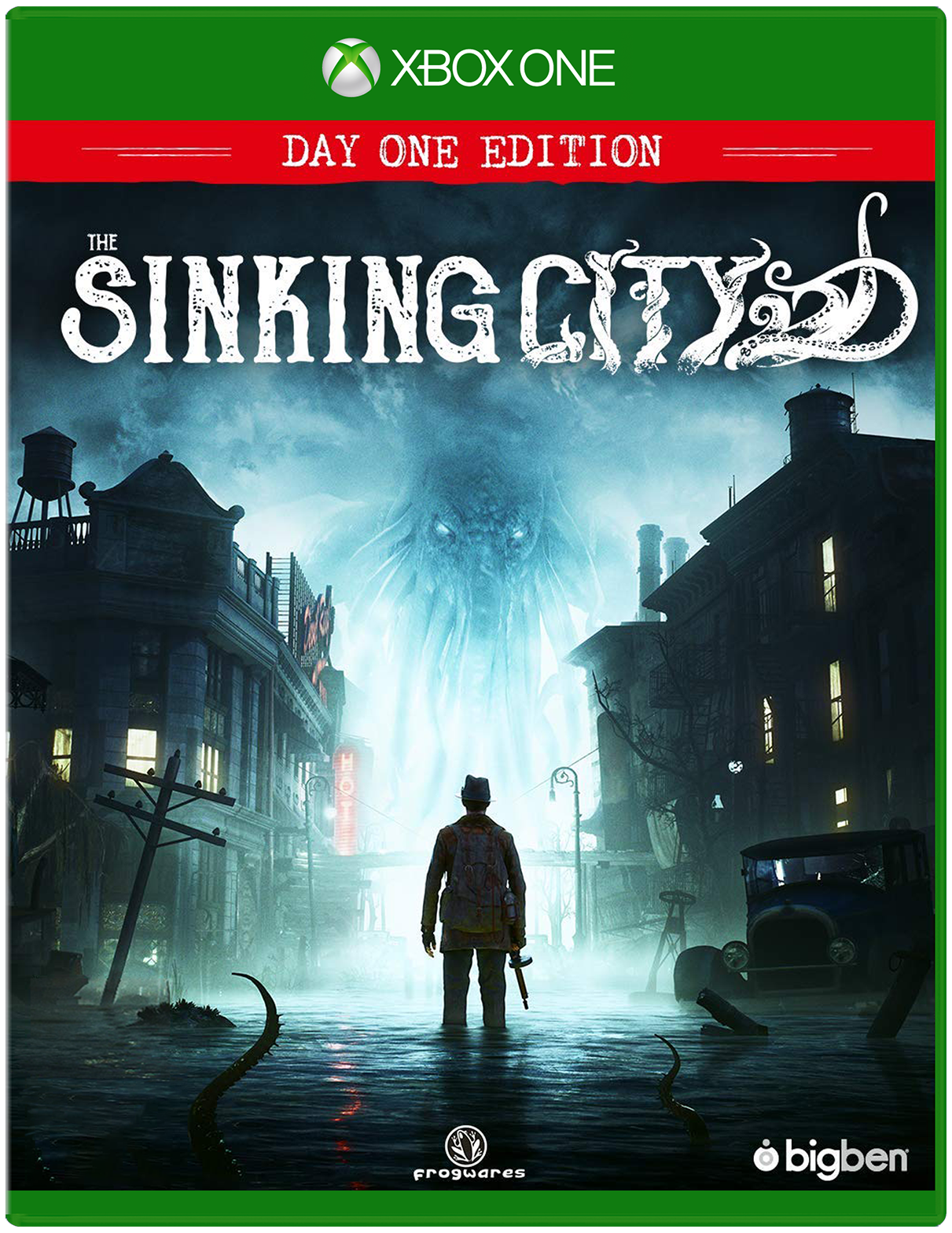 Cover of The Sinking City for Xbox One