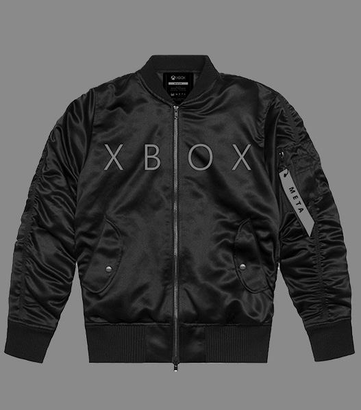 collection of rotating xbox branded apparel