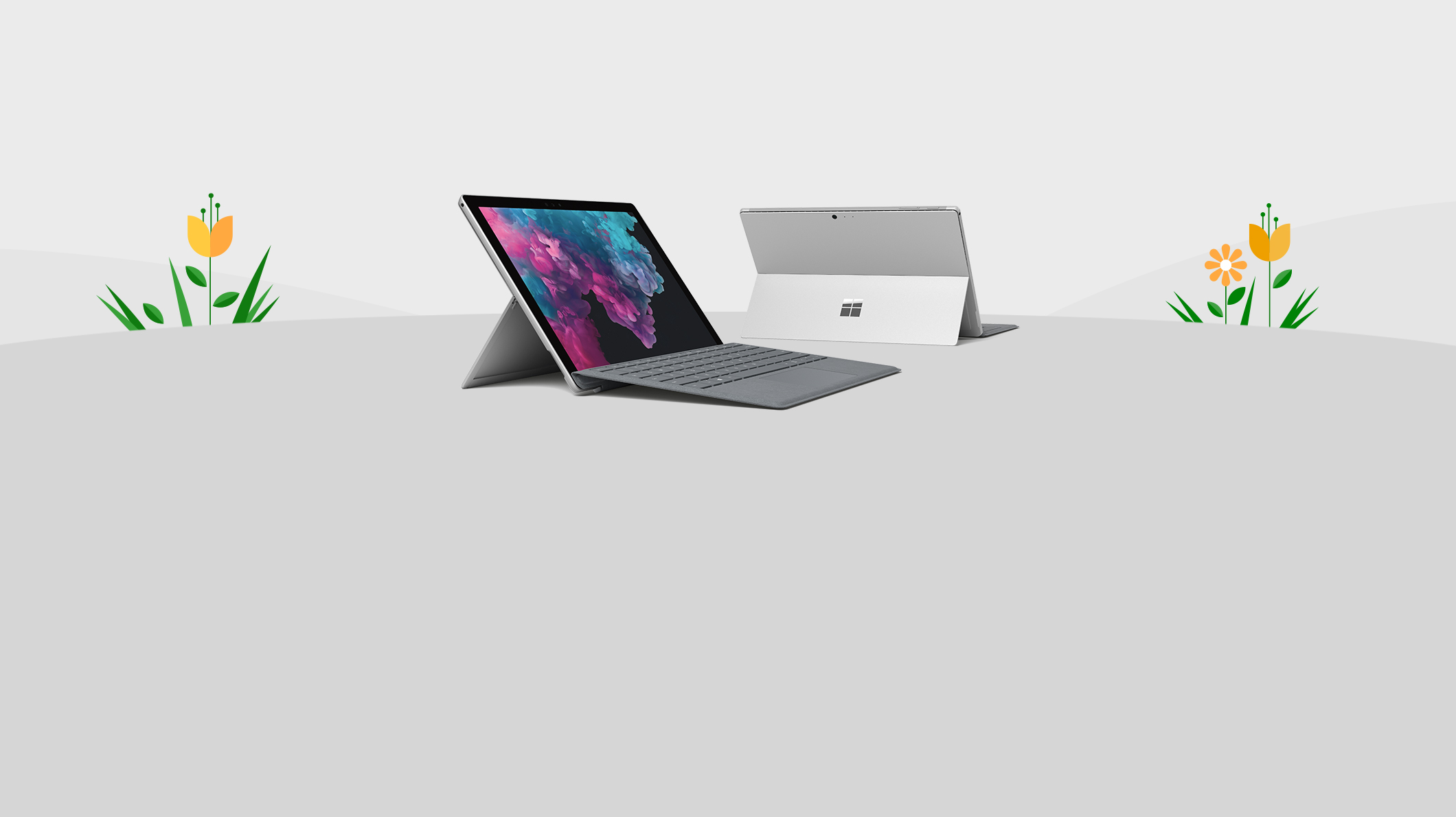 Surface Pro 6 z piórem Surface, kontroler Xbox, konsola Xbox One S i Surface Laptop 2