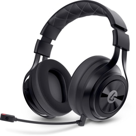 LucidSound LS35X - Surround Sound Wireless Gaming Headset left angle view