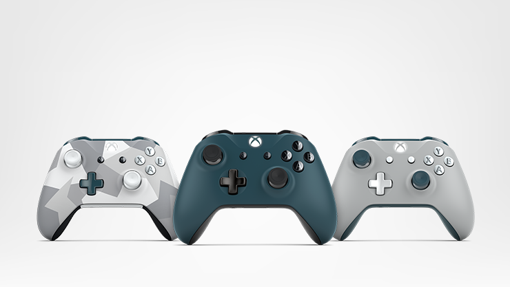 Xbox Design Lab controllers.
