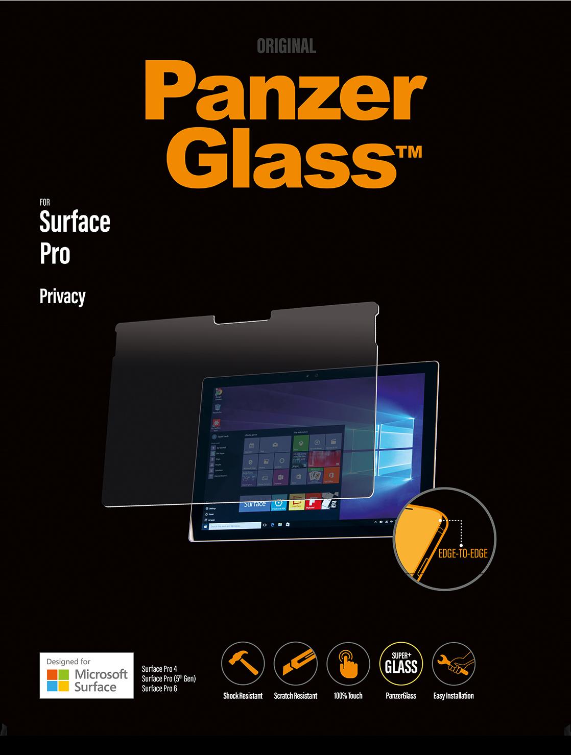 Buy PanzerGlass Surface Pro 4/Pro 5/Pro 6 Privacy Screen