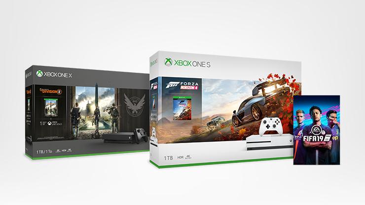 Consoles Xbox One, jeu Fifa 19