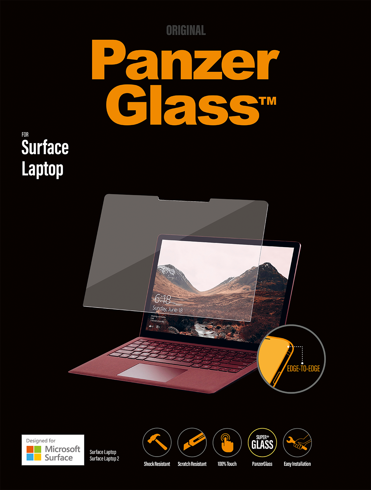 RE2Ojth?ver=01ed - PanzerGlass Microsoft Surface Laptop Screen Protector 13""""