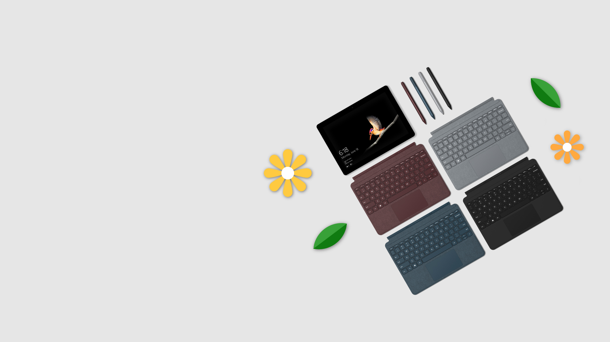 Surface Go + clavier Type Cover +  stylet Surface
