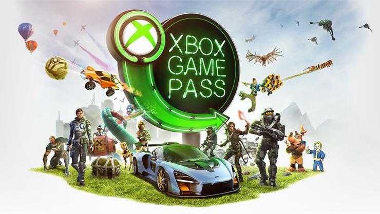 Xbox Game Pass keyart.