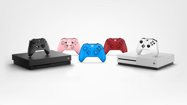 Consoles Xbox One et manettes sans fil