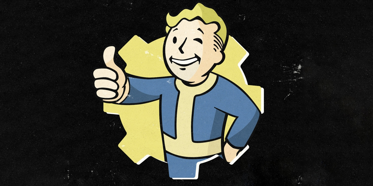Fallout logo imagery for Xbox Gear Store