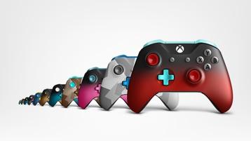 Xbox Design Lab controllers.