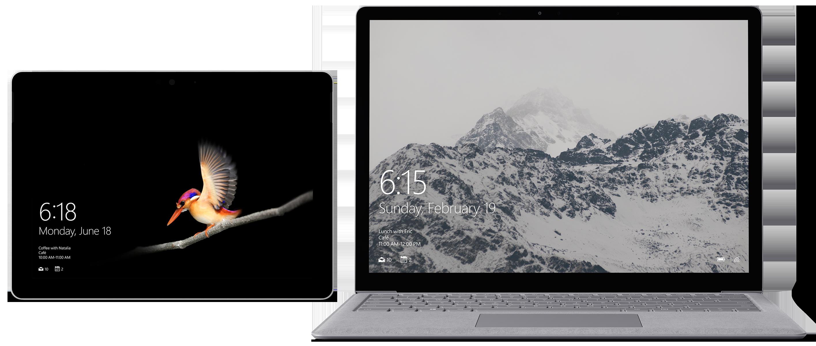 Surface Laptop 1st Gen and Surface Go bundle