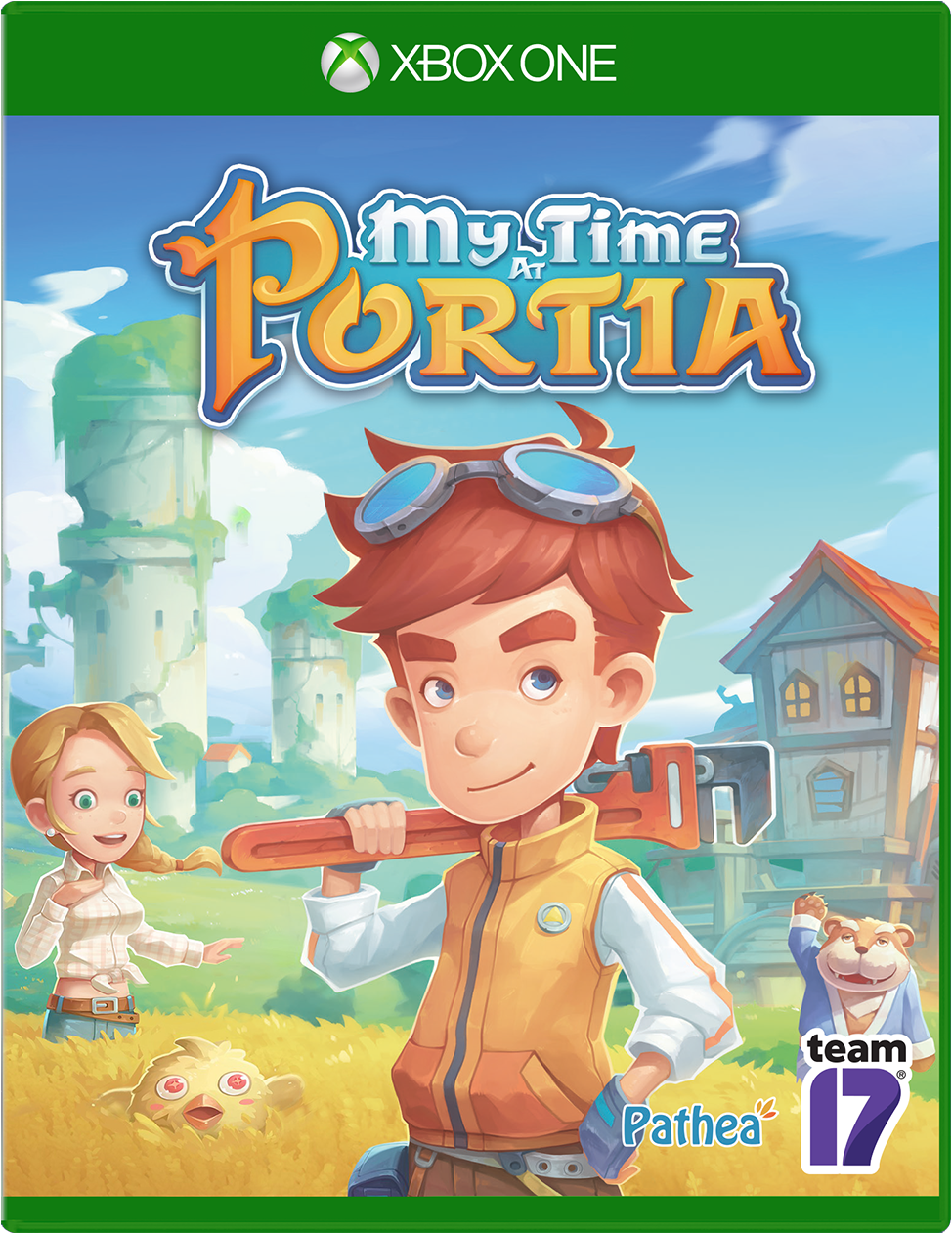 My Time at Portia for Xbox One game box