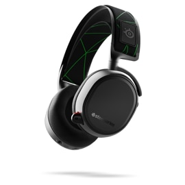 Right front angled view of Steel Series Arctis 9X Headphones