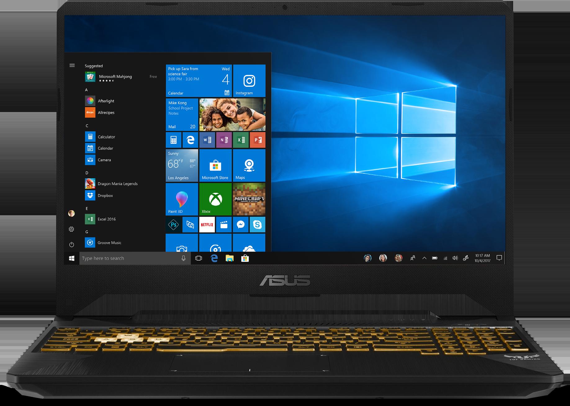 """Image of Asus TUF 15.6"""" Gaming Laptop VN9-00045"""