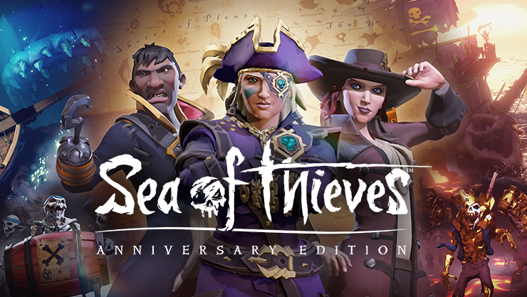 Sea of Thieves Anniversary Edition game art.