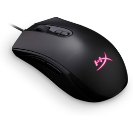 Kingston HyperX Pulsefire Core RGB Gaming Mouse from a top back angle