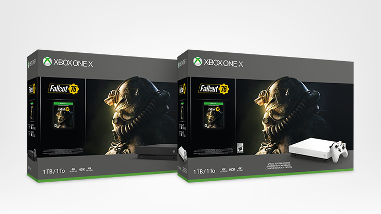 Xbox One X, Fallout 76