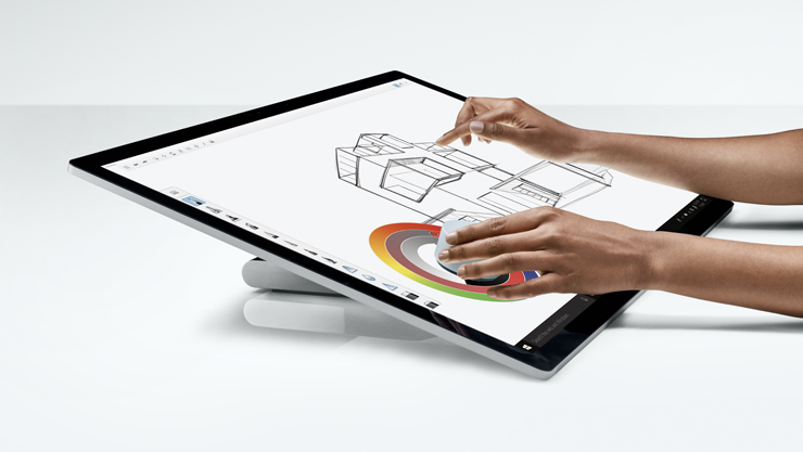 Surface Studio, Surface Dial, Surface pen