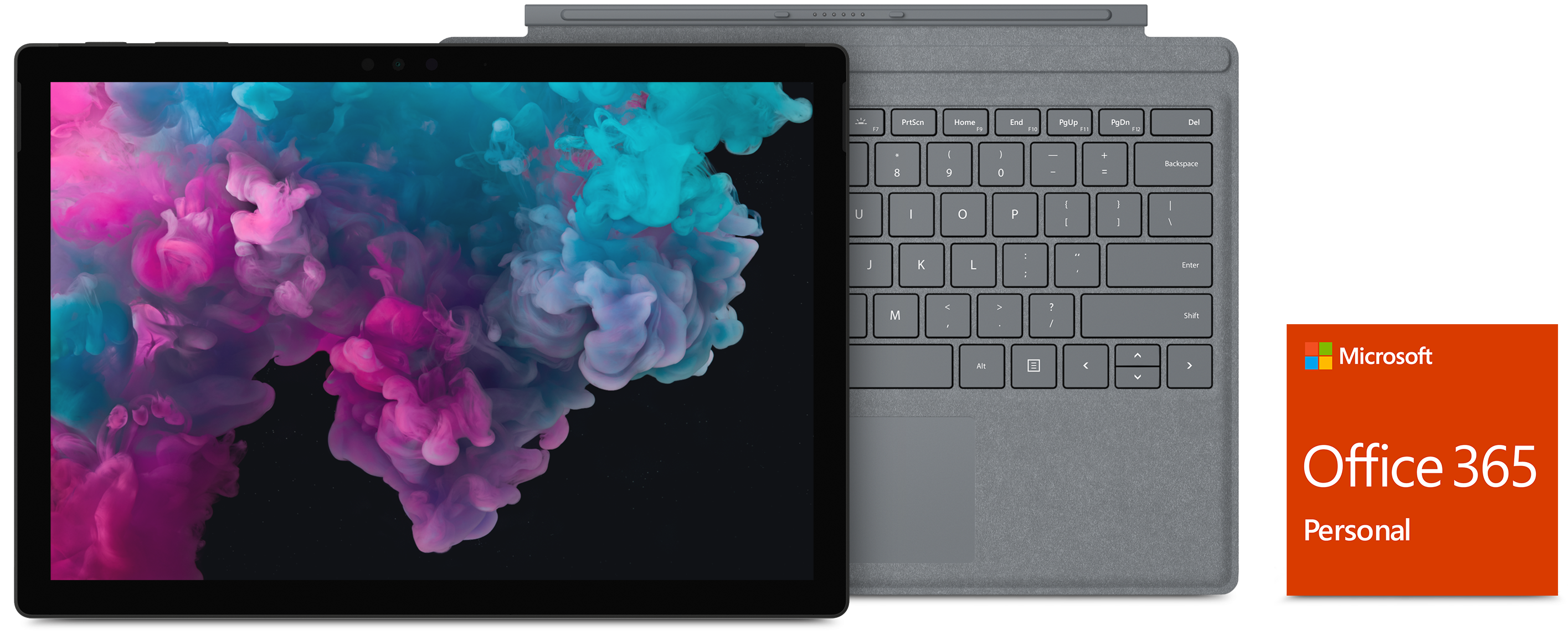 Surface Pro 6 with Type Cover and Office 365