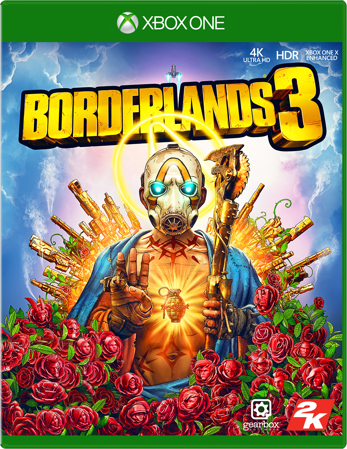 Borderlands 3 for Xbox One game box