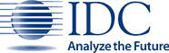 IDC logo with tagline: Analyze the Future