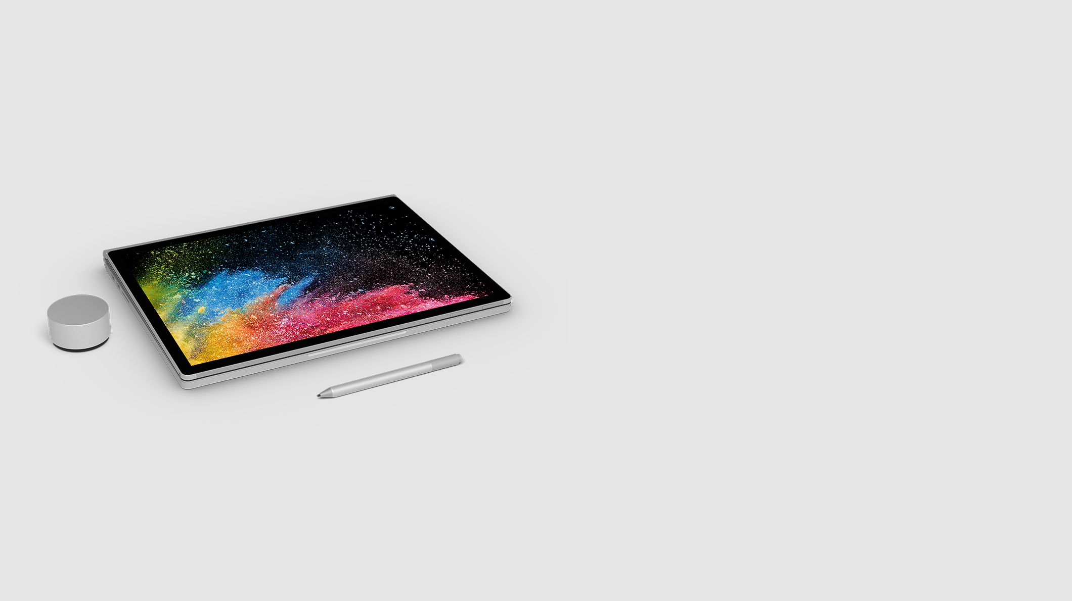 Surface Book 2, Surface Dial, Surface Pen