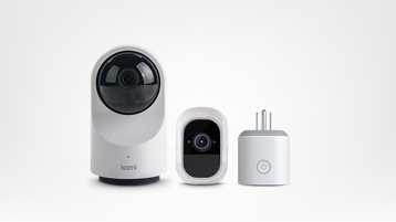 Various smart home devices.