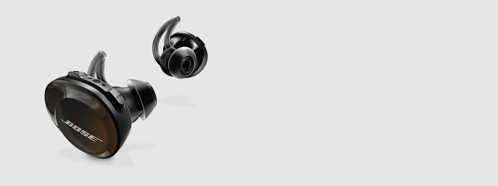 Black Bose SoundSport Free Wireless Headphones