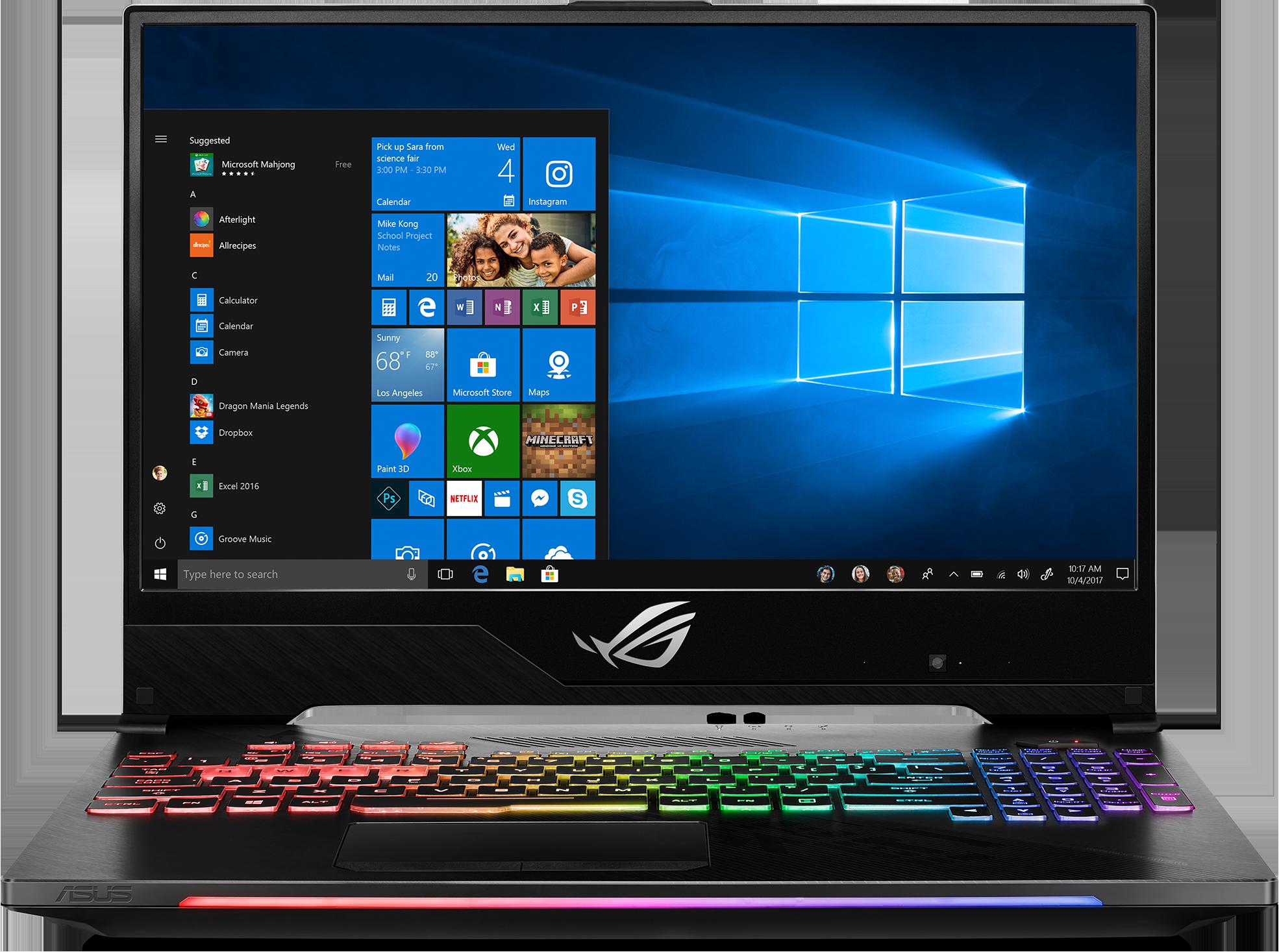 ASUS ROG STRIX Hero II GL504GM-IH73 Gaming Laptop