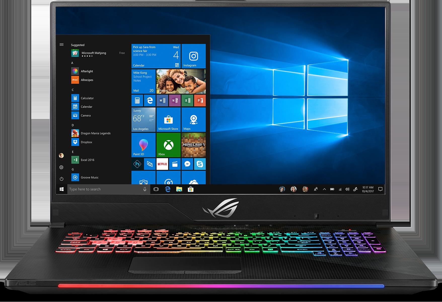 ASUS ROG Strix SCAR II GL704GM-DH74 Gaming Laptop