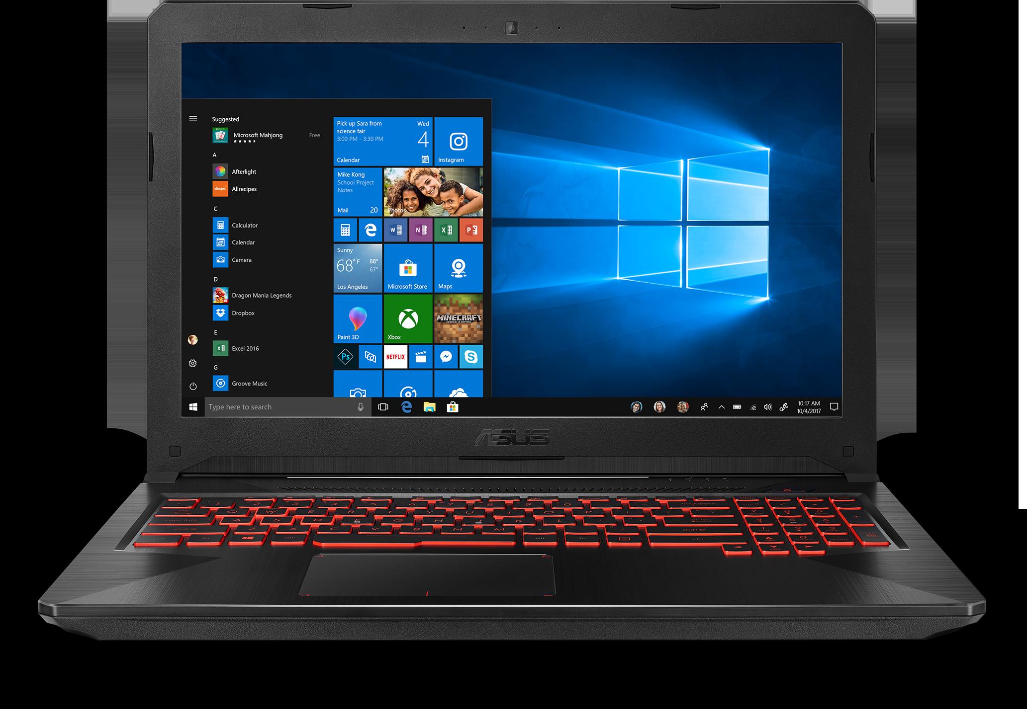 ASUS TUF FX504GE-ES72 Gaming Laptop