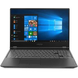 Front view of open Lenovo Legion Y540 Laptop