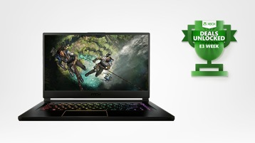 MSI GS65 Stealth gaming laptop.